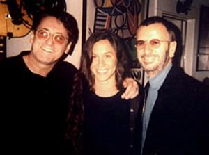 John Alexander, Alanis Morissette & Ringo Starr.