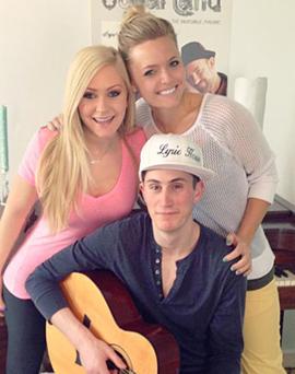 Jessica Cole, Krista Van Allen and Sean Waldron
