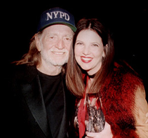 Aimee Mayo with Willie Nelson