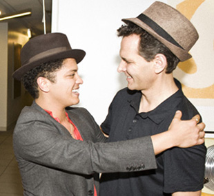 Craig Kallman and Bruno Mars.