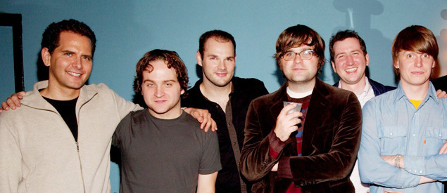 Craig Kallman, Death Cab For Cutie, and Sam Riback