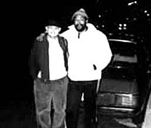 David Ritz and Marvin Gaye