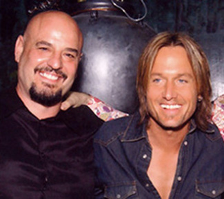 Dennis Matkosky with Keith Urban.