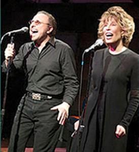 Barry Mann & Cynthia Weil performing live.