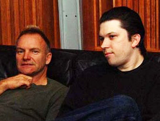 Sting and Martin Kierszenbaum