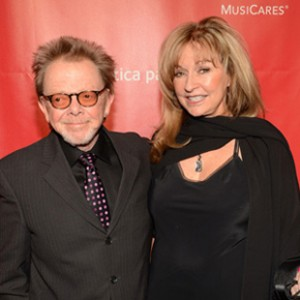 Paul Williams with his wife Mariana Williams