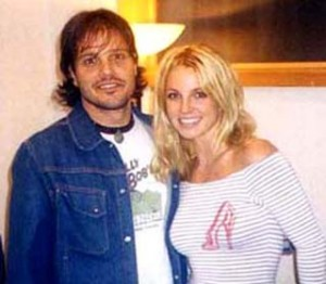 Rob Fusari with Britney Spears