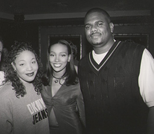 Tamara Savage with Monica and Big Jon Platt.