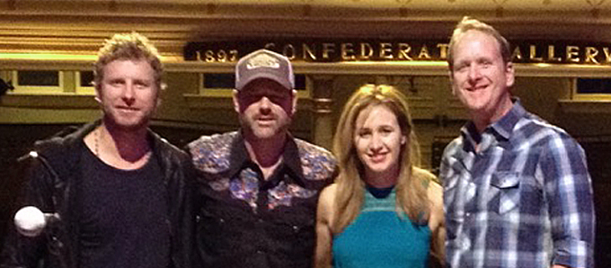 Dierks Bentley, Jon Randall, Jessi Alexander and Jim Beavers