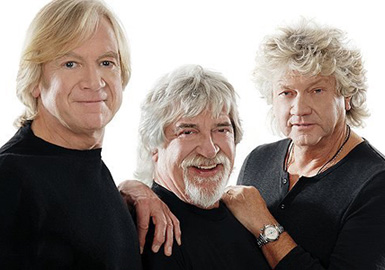 The Moody Blues: Justin Hayward, Graeme Edge & John Lodge.