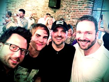 Chris DeStefano, Ross Copperman, Jon Nite & Josh Van Valkenburg.
