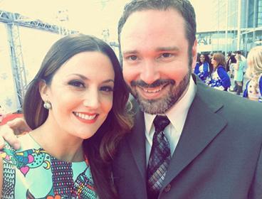 Josh Van Valkenburg and Natalie Hemby