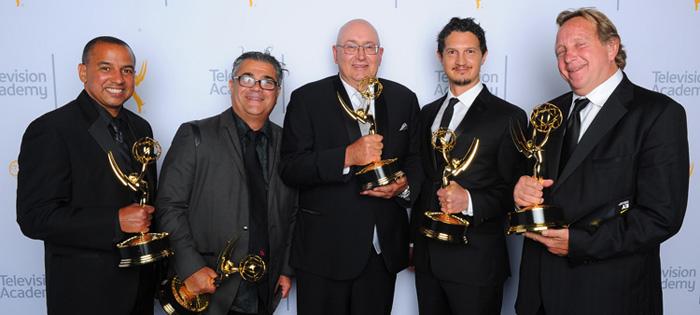 Roberto Fernandez, Evyen Klean, Jim Ernswiller, Damian Volpe, and Ed Cherney.