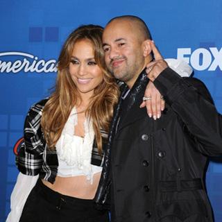Jennifer Lopez and RedOne.