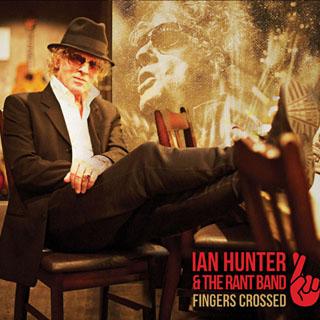 The cover of Ian Hunter's new album, <em>Fingers Crossed</em>.
