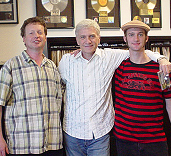Randall Wixen, Dennis DeYoung of Styx, and Andrew Wixen