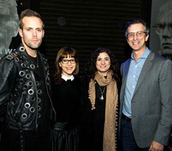 Justin Tranter, Lisa Loeb, Ilsey Juber, and David Israelite.