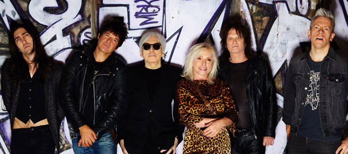 Here is the current, full band lineup for Blondie.