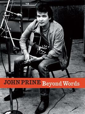 The cover of John Prine's book, <em>Beyond Words</em>.