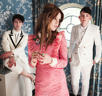 Echosmith: Noah Sierota, Sydney Sierota and Graham Sierota.