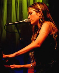 Charlotte Martin performing live.
