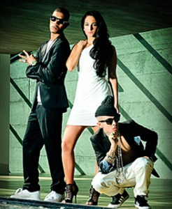 U.K. group N-Dubz (new signing by Max Gousse).
