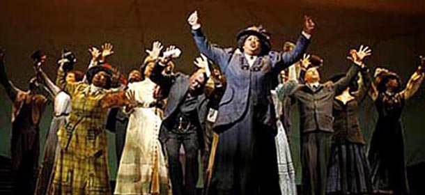 A scene from the Broadway production of The Color Purple.