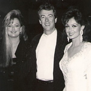 Brent Maher with The Judds.