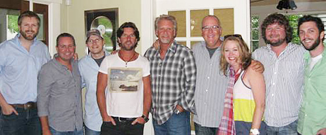 BJ Hill, Steve Markland, Nate Lowery, Brett James, Phil May, Alicia Pruitt, Chris Van Bellcom, Kenley Flynn