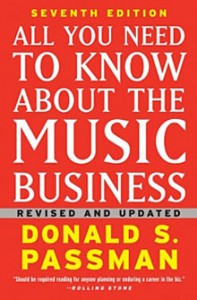 The cover of Donald Passman's book.