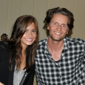Demi Lovato and Toby Gad.