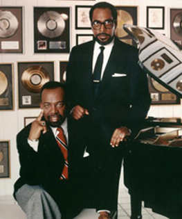 Leon Huff & Kenny Gamble in 1986.