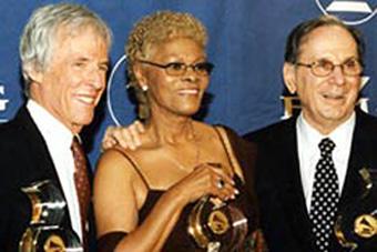 Burt Bacharach, Dionne Warwick & Hal David.