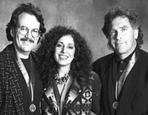 "Pictured (l-r): Phil Galdston, Wendy Waldman & Jon Lind. The trio wrote the #1 hit, ""Save The Best For Last""."