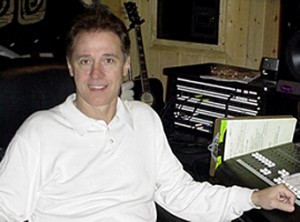 Keith Follese at his studio.