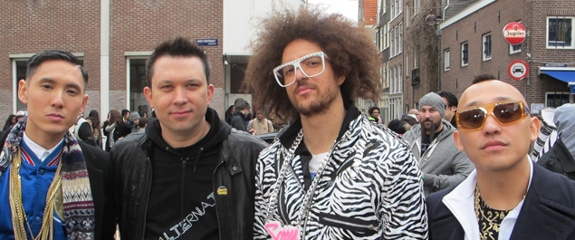 Kev Nish, Martin Kierszenbaum, RedFoo, and Prohgress