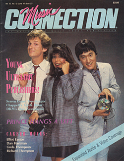 Music Connection magazine (pictured l-r): Tom Sturges, Linda Blum-Huntington and Dale Kawashima.