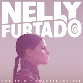 The cover of Nelly Furtado's album The Spirit Indestructible.