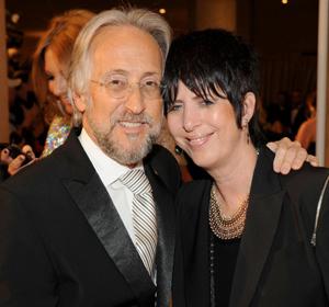 Neil Portnow and Diane Warren