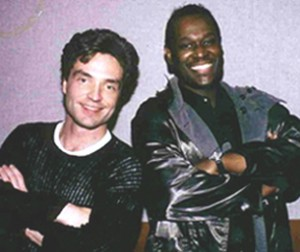 Richard Marx with Luther Vandross.