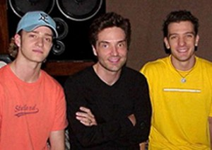 Richard Marx with Justin Timberlake & J.C. Chasez.