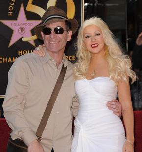 Ron Fair and Christina Aguilera