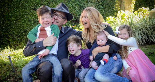 Ron Fair, Stephanie Fair and family