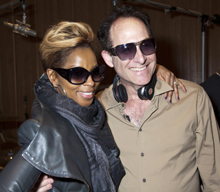 Mary J. Blige and Ron Fair