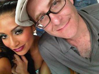 Ron Fair and Nicole Scherzinger