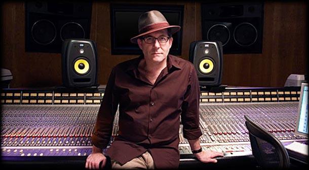 Ron Fair in a recording studio