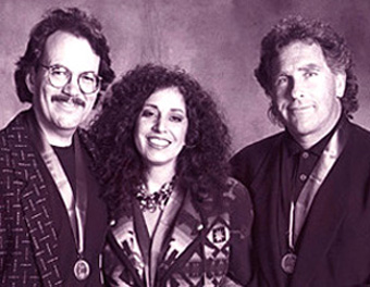 Pictured (l-r): Phil Galdston, Wendy Waldman & Jon Lind.