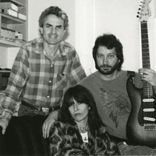 Billy Steinberg, Chrissie Hynde and Tom Kelly.