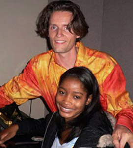 Toby Gad and Keke Palmer