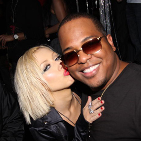C. Tricky Stewart with Christina Aguilera.